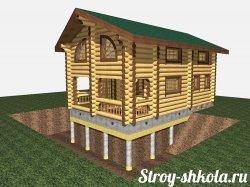 Робимо свайно-лентончний фундамент для будинку своїми руками