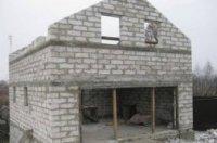 як побудувати будинок з піноблоків