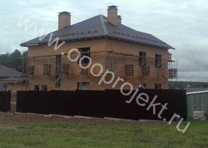Дахи будинків, фото бітумної черепиці