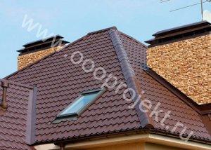 Дахи будинків з металочерепиці
