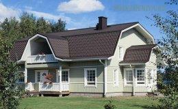 Мансардний або ламана дах будинку