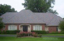 Пірамідальний дизайн для даху будинку