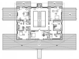 Планування заміського будинку