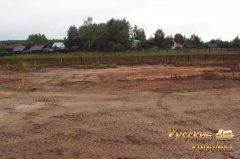 докладний фотозвіт про будівництво фундаменту для дерев'яного будинку 1