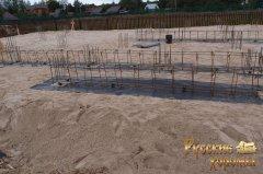 докладний фотозвіт про будівництво фундаменту для дерев'яного будинку 13