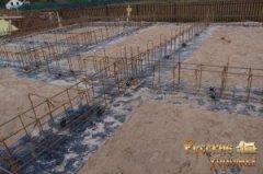 докладний фотозвіт про будівництво фундаменту для дерев'яного будинку 14