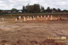 докладний фотозвіт про будівництво фундаменту для дерев'яного будинку 3
