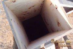 докладний фотозвіт про будівництво фундаменту для дерев'яного будинку 7