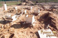 докладний фотозвіт про будівництво фундаменту для дерев'яного будинку 8