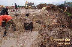 докладний фотозвіт про будівництво фундаменту для дерев'яного будинку 9