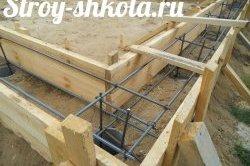 Процес створення дерев'яної опалубки