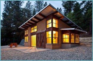 проект будинку з односхилим дахом