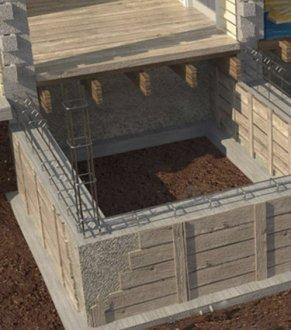будівництво цоколя фундаменту приватного будинку