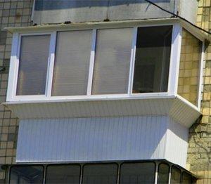 Збільшення площі балкона